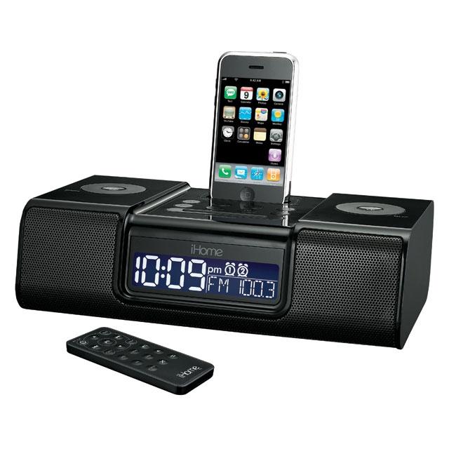 ihome ip9 iphone alarm clock review ihome iphone speakers. Black Bedroom Furniture Sets. Home Design Ideas