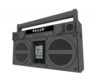 iHome iP4 iPhone-iPod BoomBox Speaker Review
